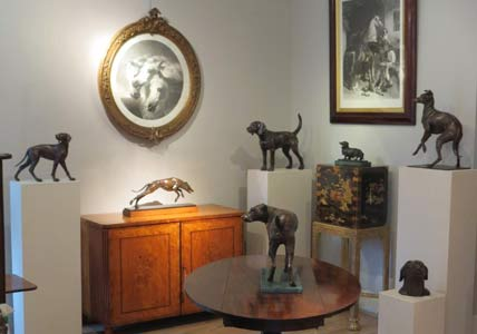 Sally Arnup at Reindeer Antiques