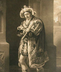 Turner: Mr Kean as Richard III