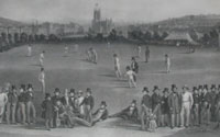 Drummond: Cricket Match between Sussex and Kent
